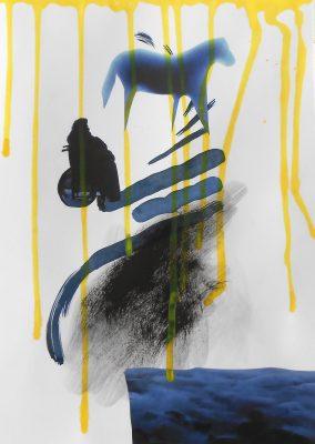 blaues-pferd